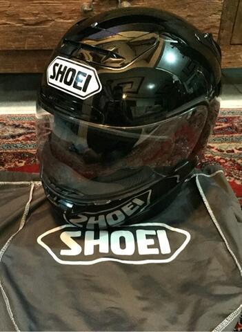 Shoei X11 Black Solid murmer mantap
