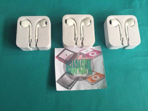 earpods earphone headshet COPOTAN IPOD NANO 7 7th. ORIGINAL 100% for ipod iphone ipad