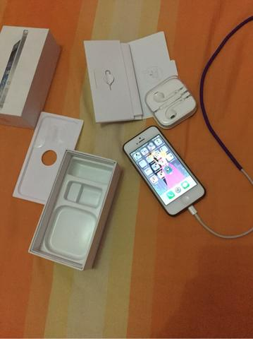 dijual iphone 5 16g white second bagus