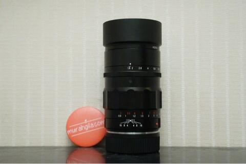 Lensa Voigtlander 75mm f1.8 Heliar Classic for LEICA M (Solo/Jogja) @MurahGila.com