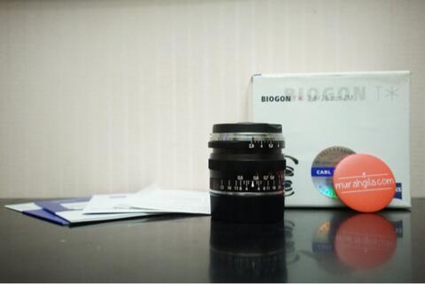 Lensa Carl Zeiss Biogon 28mm f/2.8 2.8/28 LEICA M ZM (Solo/Jogja) @MurahGila.com