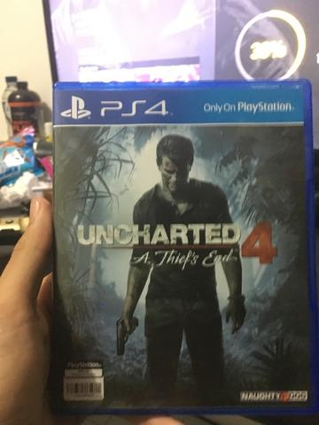 WTS BD Uncharted 4 Like New