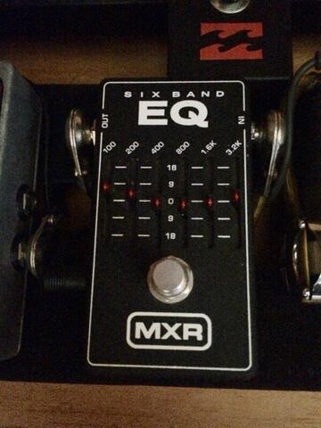 MXR sixband / 6 band equalizer