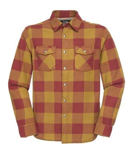 WTS The North Face Stone Cat Lined Flannel Mens