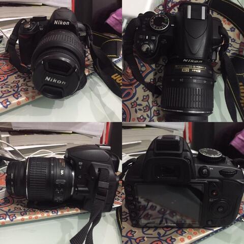 Nikon D3100 kit 18-55 mulus