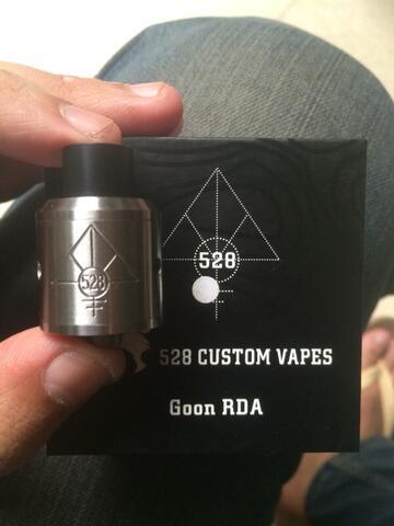 Goon RDA by 528 custom vapes