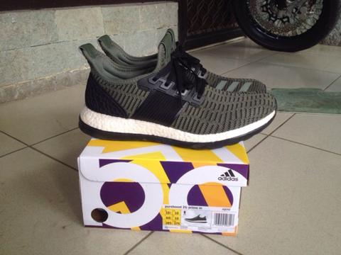 adidas originals pureboost zg prime 2nd, size 10.5, mulus murah meriah!