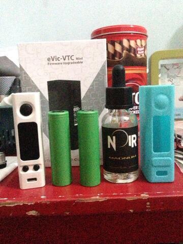 WTS Evic VTC MINI + VTC5 + Noir Magnum