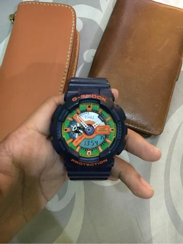 jual jam tangan casio G-SHOCK GA110FC gan! 2nd original 1000%