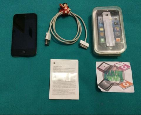 [2nd] ipod touch 4 / 4th 16gb fullset mulus
