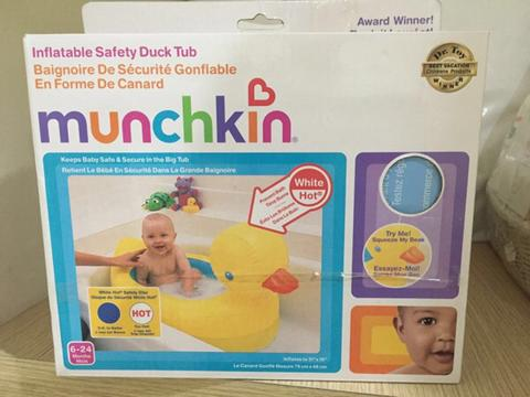 Jual : Munchkin Inflatable Safety Duck Tub
