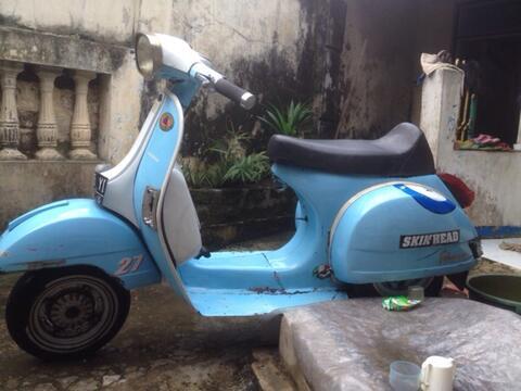Vespa Ps '80 Komplit Bandung