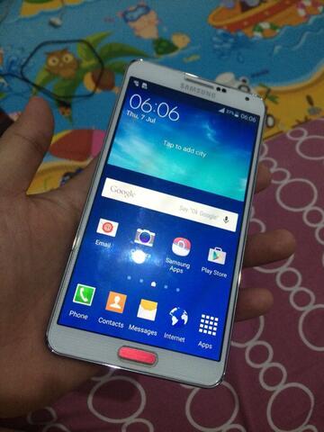 2nd samsung Galaxy note 3 ex-SEIN mulus 95%..
