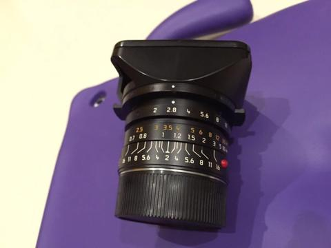 Lensa Leica Summicron M 28mm f/2 2/28 Asph 6 bit (Solo/Jogja/Rekber) @MurahGila.com
