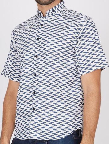 wts printed shirt stratto man modal ganteng cekidot sikat gan