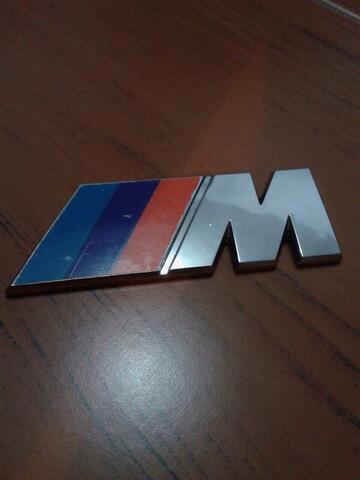Emblem Bagasi Mtechnic Original BMW