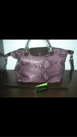 tas Longchamp ori kulit