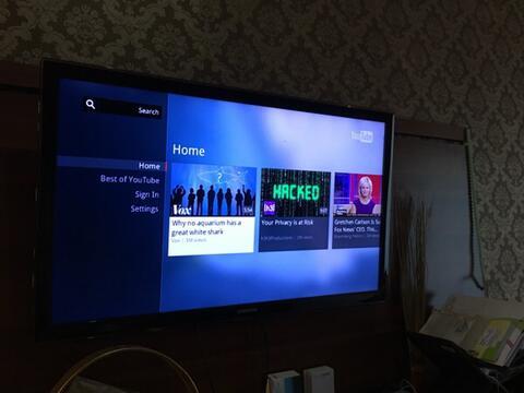Samsung smart TV ua40d6000