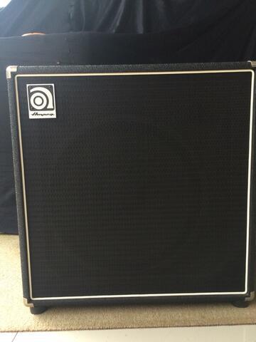 bass amplifier AMPEG BA115