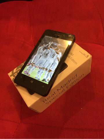 WTS lumia 430 real madrid edition