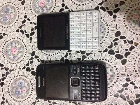 Nokia e72 & Motorola ex119