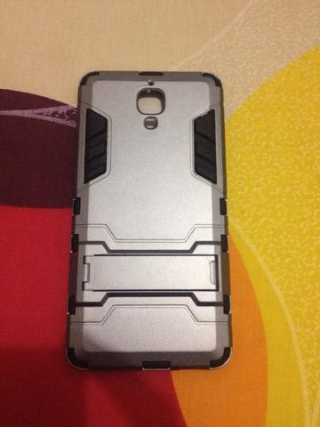 Casing Back Case Cover Armor Robot Transformers Xiaomi Mi4 with Standing Malang