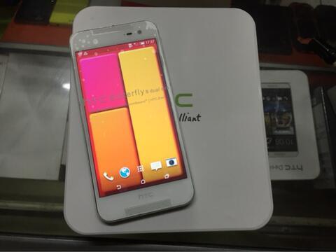[New Old Stock] HTC Butterfly 2 HTL23 White Original Lkp (Depok)