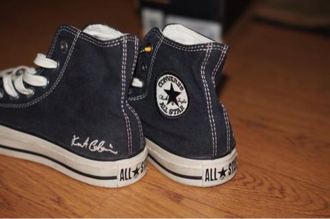 75a5c257ea114e Terjual Converse CT Hi x Kurt Cobain RARE LAST PAIR!!!
