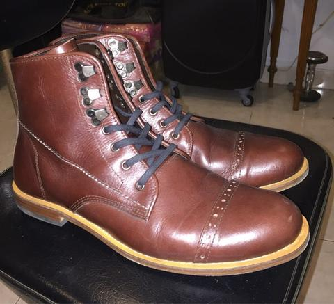 leather boots handmade size 44