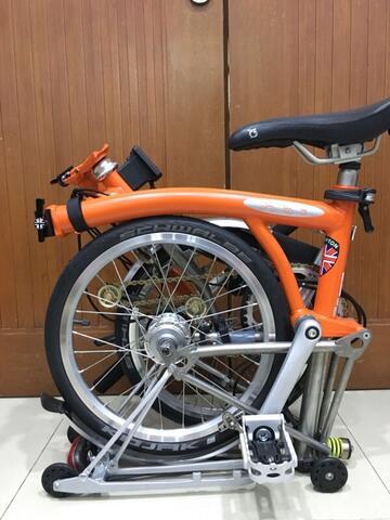 Terjual Brompton Bike (Titanium) / LNOB KASKUS