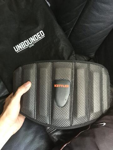 kettler weightlifting belt malang