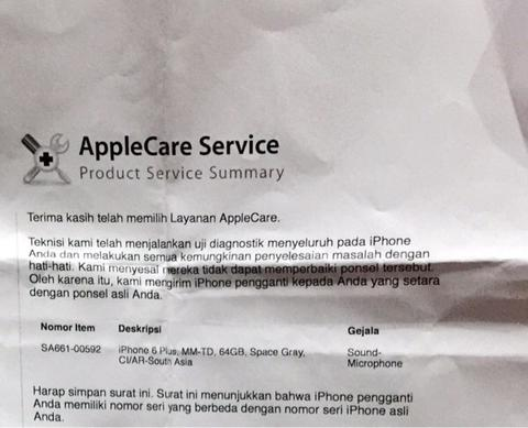 Iphone 6 Plus 64G Space Grey - Banyak Bonus