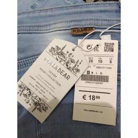 WTS PULL AND BEAR SKINNY BLUE JEANS