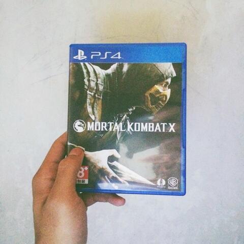 Bluray/BD/Kaset PS4 Mortal Kombat X