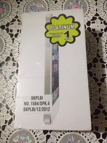 iPhone 5 32GB belum buka bungkus