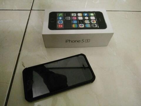 iphone 5s 16gb spacegrey space grey mulus 99%