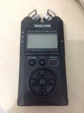 Audio recorder Tascam dr 40 jual murah cepet