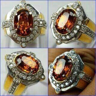 Citrus Diamond Ring