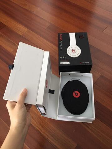 Beats Dr Dre Solo Original White