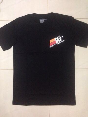 t shirt / kaos k&n racing