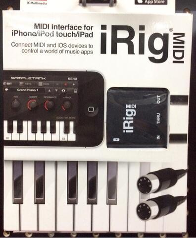 BRAND NEW: IKM iRig MIDI (Italian made)