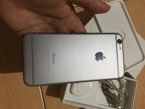 Terjual Jual Iphone 6+ Plus black Grey 64gb.. FULLSET - 99% like new ... f995dae793