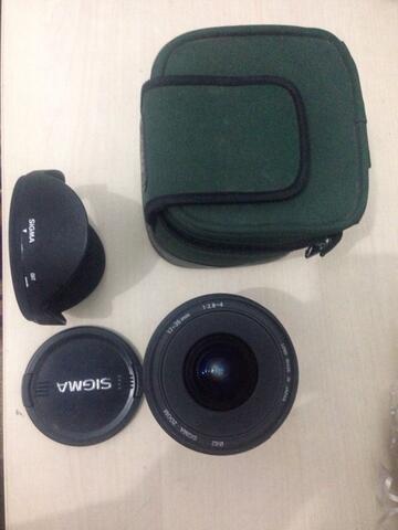Lensa Sigma 17 - 35 mm F 2.8-4 Bisa Full Frame
