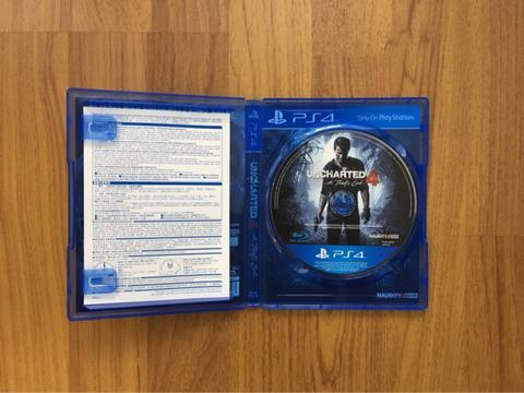 """Jual Uncharted 4 """"A Thief's End"""""""