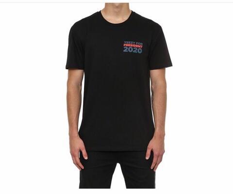 yeezy for president black t shirt