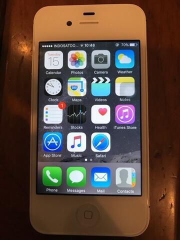 iPhone 4S 16 GB Putih - Bandung