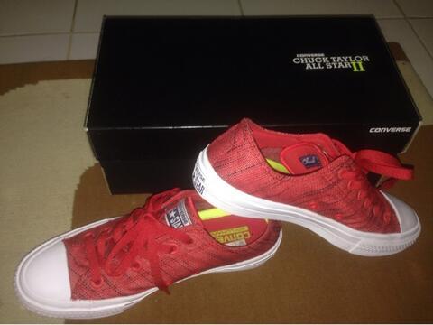 Terjual sepatu converse original chuck taylor 2   CT2   CT II Red Ox ... 3680fb7748