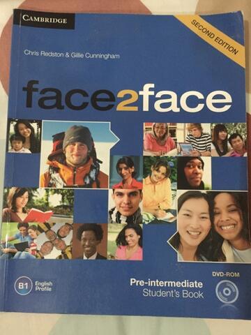 Pre-intermediate book second edition face2face students