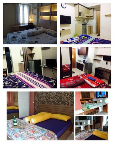 sewa penginapan & sewa apartemen untuk harian margonda residence