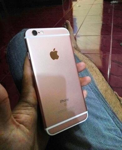 iPhone 6s Rosegold 64gb mulus & manis